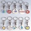 长沙礼品钥匙扣订做高档品牌钥匙扣制作金属吊牌厂