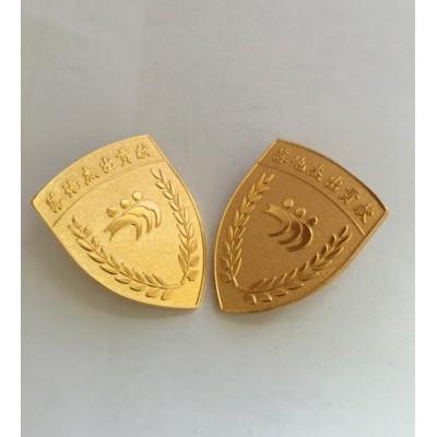 上海胸章制作金属徽章批发上海徽章厂家