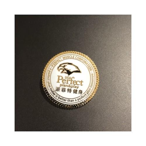 珐琅徽章制作 公司周年庆典胸章 烤漆金属徽章 胸章批发