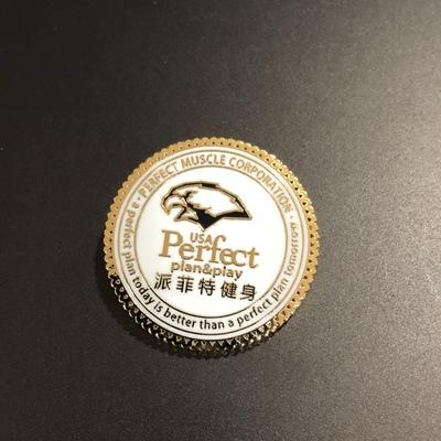 沈阳金属徽章报价珐琅logo胸章定做