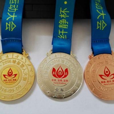 郑州铜质奖牌制作 金属奖牌订做厂家