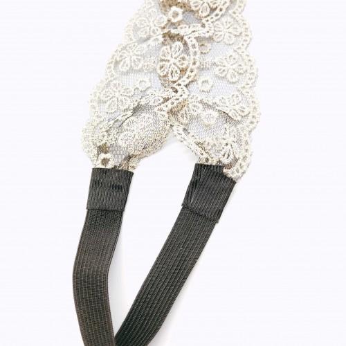 青岛欧美日韩流行时尚饰品松紧蕾丝发带