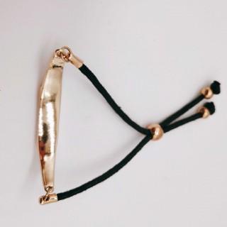 欧美风简约时尚百搭白松石镶嵌手链