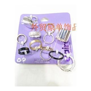 欧美日韩 小饰品 整套戒指指环原单饰品