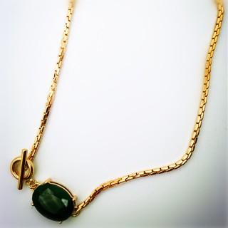 定制 2018新款欧美时尚流行饰品女外贸镶嵌宝石项链