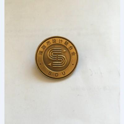 大连外贸徽章制作金属徽章设计大连胸章厂家