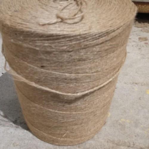 纯天然植物纤维原料 各种规格黄麻纱线
