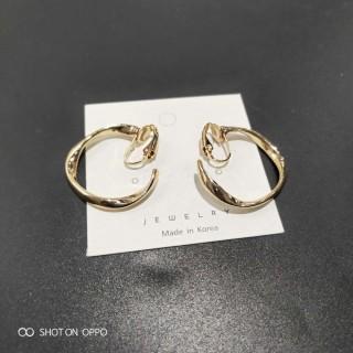 环保合金耳环低价出双色可选