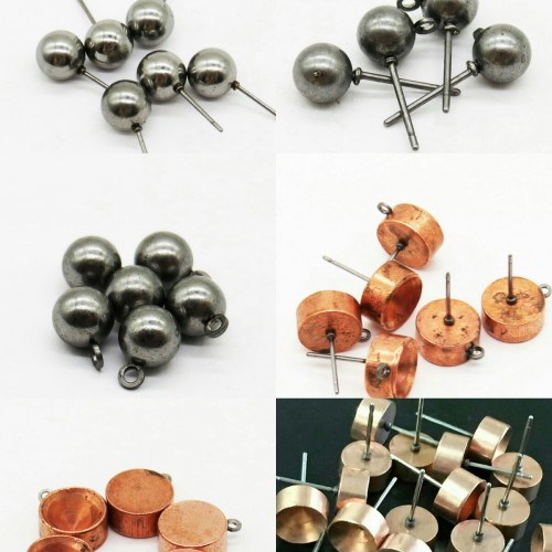 碰焊铁针,铜针,仿银针不锈钢针,银针宝石爪。球带针球带针带吊