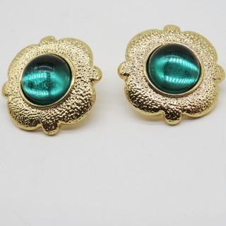 925银针蓝宝石系列耳钉