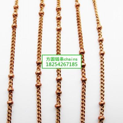 方圆夹豆链条jewelrys chains