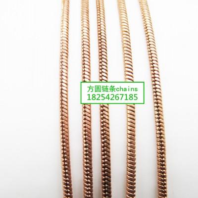 方圆蛇链系列链条jewelrys chains