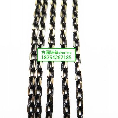 方圆4DC黑批链条jewelrys chains