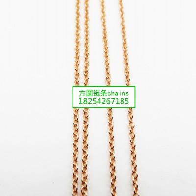 方圆O字链条系列jewelrys chains
