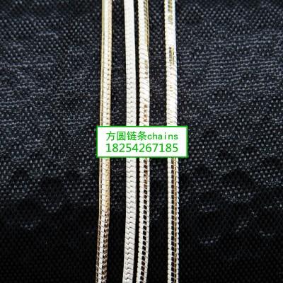 方圆蛇链白批链条jewelrys chains