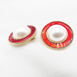 无耳洞耳夹珍珠系列双色