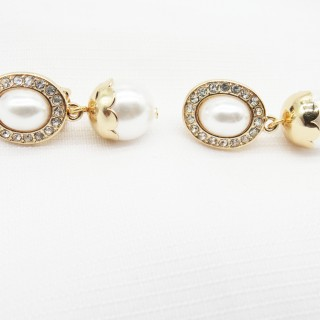无耳洞耳夹海洋珍珠系列;