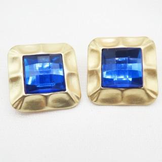 无耳洞耳夹蓝宝石指印系列