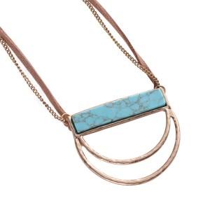 异形石头项链配饰