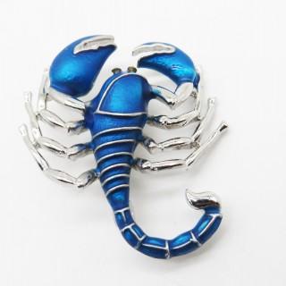珐琅巨蟹蓝