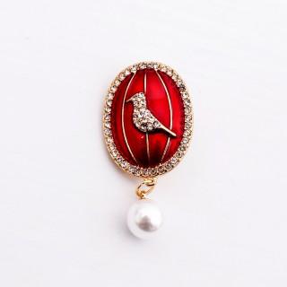 欢乐小鸟珐琅系列胸针