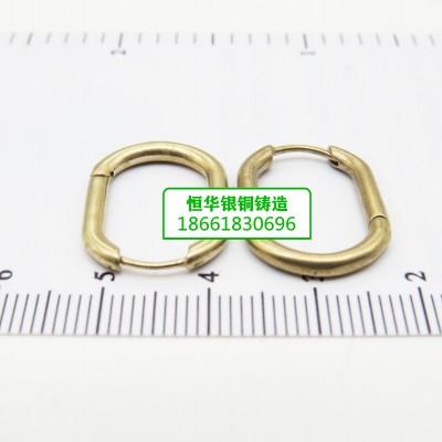 恒华银铜铸造-耳饰원터치