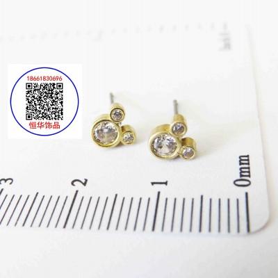 恒华earring-耳饰원터치